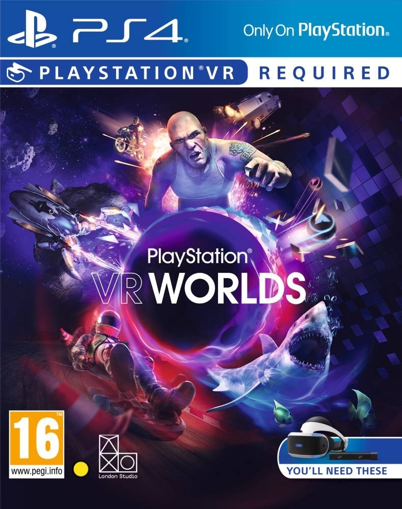 PlayStation VR Worlds PL (PS4)